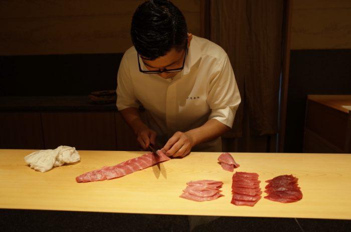 移転して紹介制になった実力あるお寿司の隠れ家