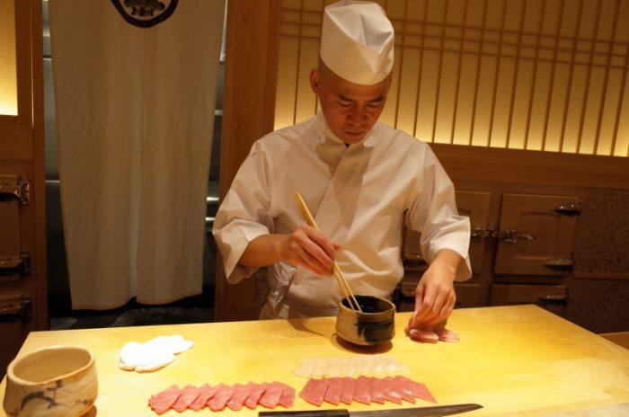 酢飯の温かさはお米の美味しさ