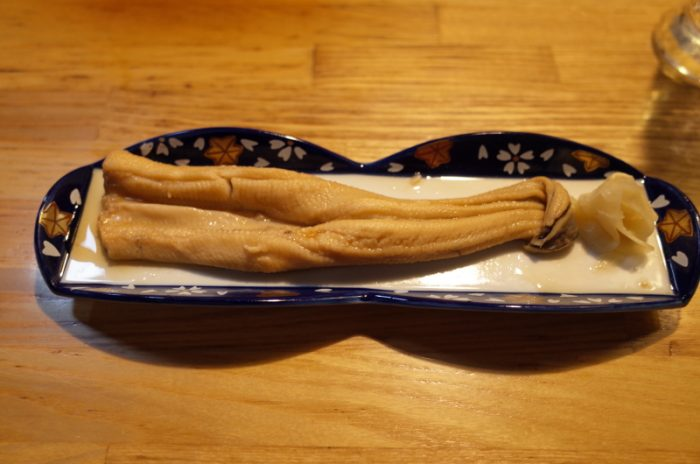 唯一無二の常連用、タンと松茸のしゃぶしゃぶ