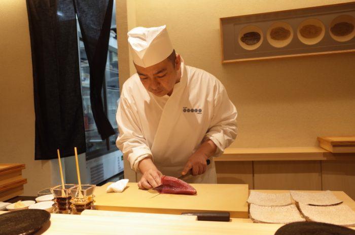 シャリとネタの温度を表示する初の寿司屋