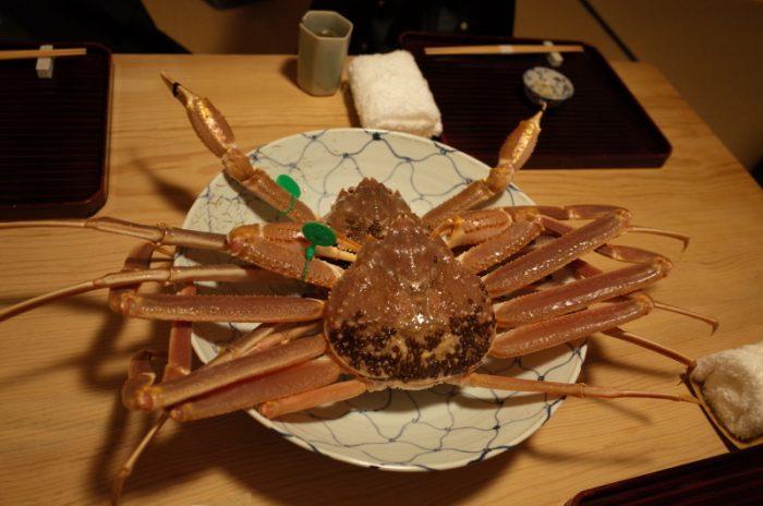 美味過ぎてシビれた蟹の赤酒漬け