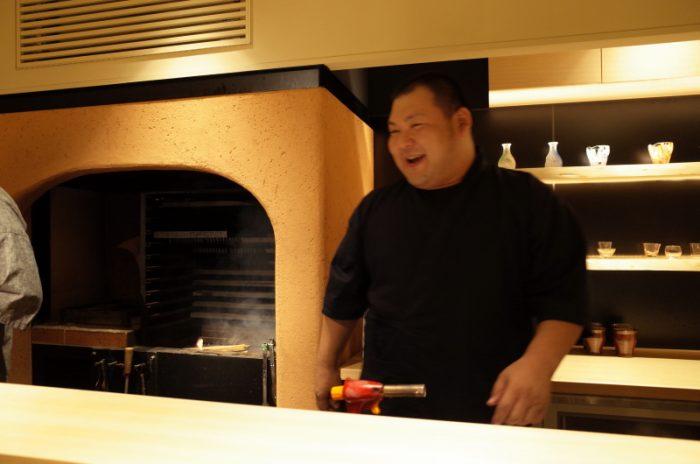 薪火調理に特化したカウンター和食