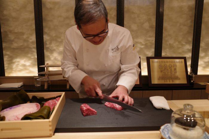 日本の極上牛肉が集まった肉割烹