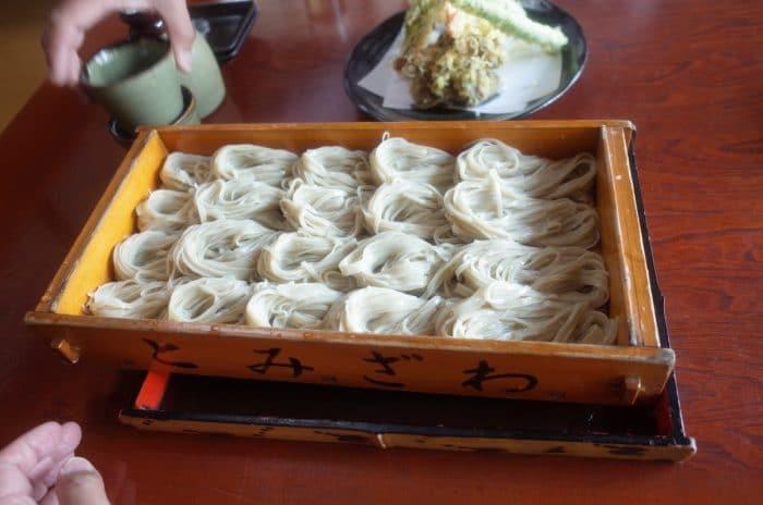 1日60食限定、日本一好きなへぎ蕎麦